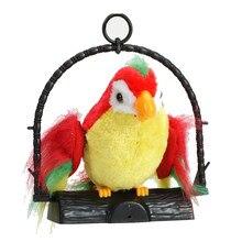 Falando papagaio imita e repete o que você diz crianças presente engraçado brinquedo