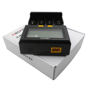 Image 5 - Wholesale LCD Smart Battery Charger Miboxer C4 for Li ion IMR ICR LiFePO4 18650 14500 26650 21700 AAA Batteries 100 800mAh 1.5A