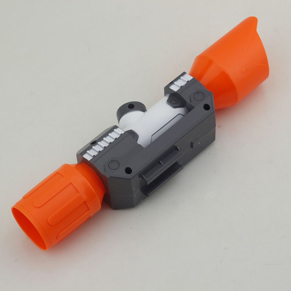 Modified Part Front Tube Sighting Device for Nerf Elite Series - Orange + Grey