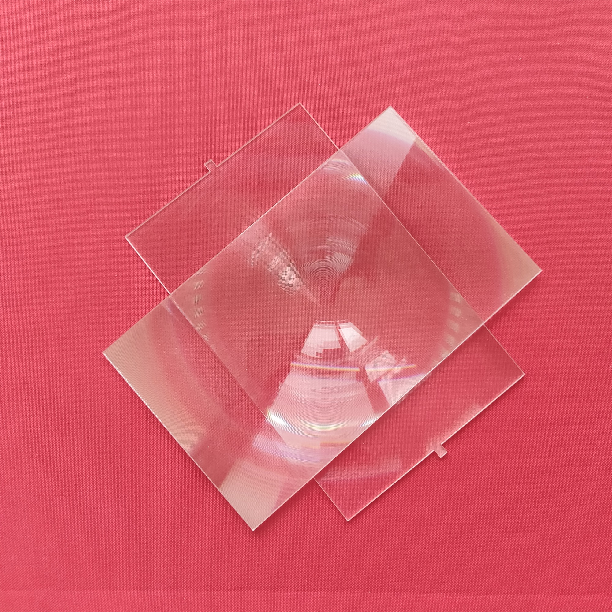 best quality 2 pcs Rectangle Fresnel Lens for 6 inch LCD ...
