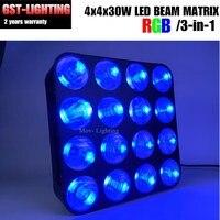 4pcs/lot 16 Head Matrix Beam Lights For Stage Background 16X30W Warm White CREE