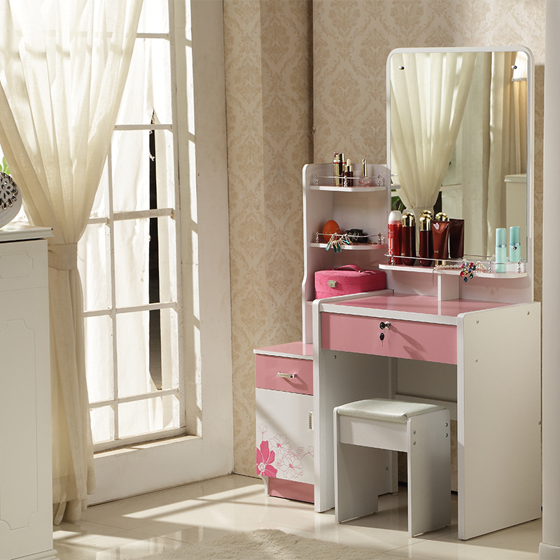 Concise Style Dresser White Ivory Purple Pink Colored Dressing Table With  Mirror, Stool In Dressers From Furniture On Aliexpress.com | Alibaba Group