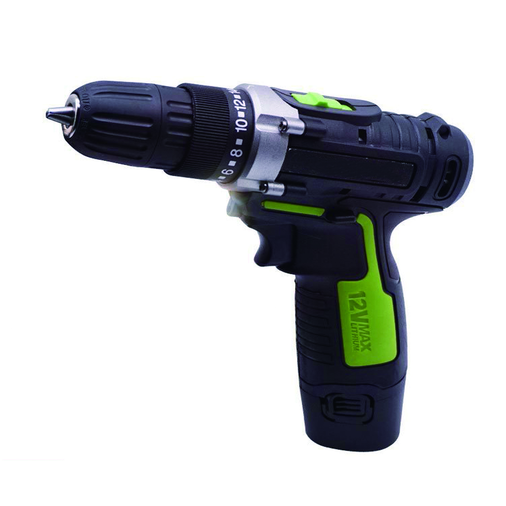 12V Lithium Rechargeable Drill Hand Drill Electric Screwdriver Dual-Speed Home Drilled Multifunction Hand Electric Drill electric drill mini miniature ball bearing precision grinding aluminum shell multifunction hand drill