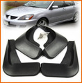 Acessórios fit para 2003 2004 2005 2006 2007 mitsubishi lancer sedan mud flap splash guarda-lamas