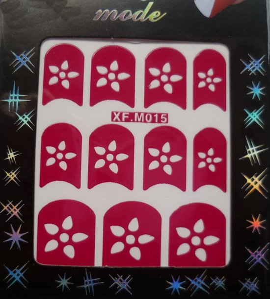 Очень рекомендуем 48 стилей дизайн ногтей Французский маникюр 3D наклейки для ногтей 1000 упак./лот