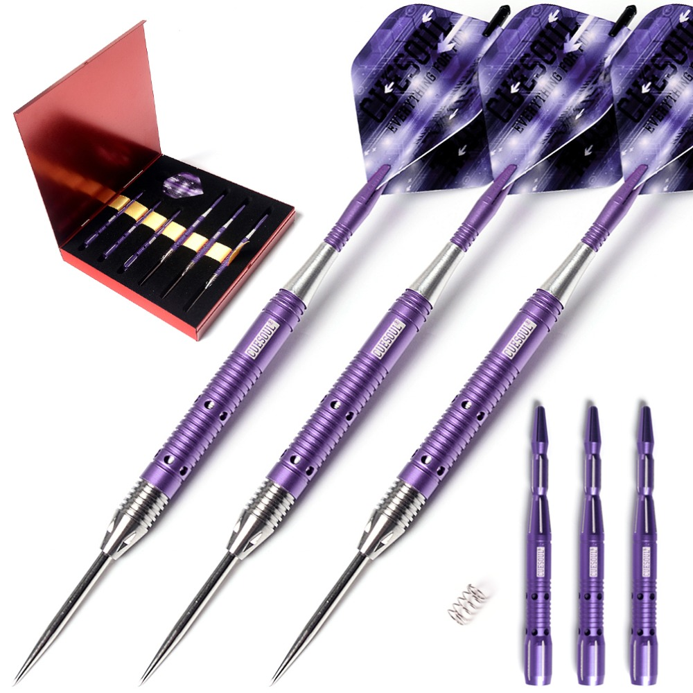 все цены на CUESOUL ARMOUR Series 21/23 Grams Tungsten Steel Tip Darts
