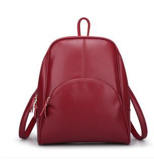 New Brand Women Leather Backpack Women travel bags vintage Shoulder Bag Motorcycle Bag feminina