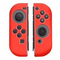 For Nintendo Switch NS Joy Con Black Protective Case 3 Pairs Thumb Stick Grips 1 Pcs
