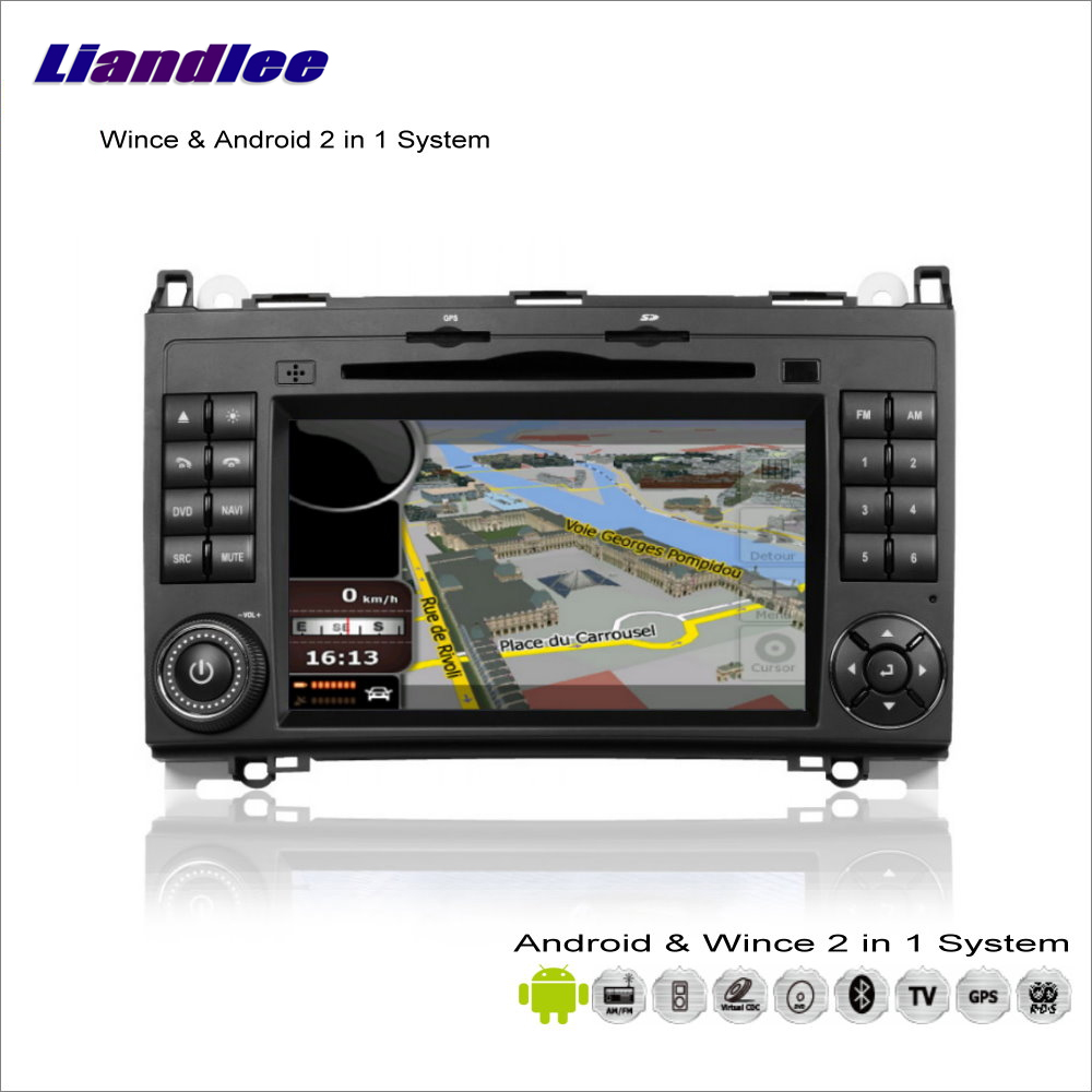 Liandlee For VW Volkswagen Crafter LT3 Volt 2002~2012 Car Radio DVD Player GPS Nav Navigation Wince & Android 2 in 1 S160 System