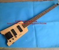 new brand Big John 4 strings natural right hand headless electric bass guitar F 3147