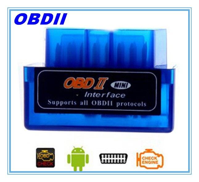 Prix pour Nouveau! MINI Bluetooth OBD2/OBDII pour Android De Voiture Testeur De Diagnostic Outil