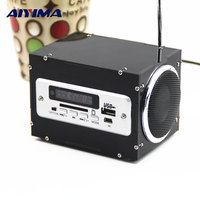 AIYIMA Power Amplifier Production DIY Kits Multi function Wireless Bluetooth Audio DIY Electronic Spare Parts Radio MP3 player