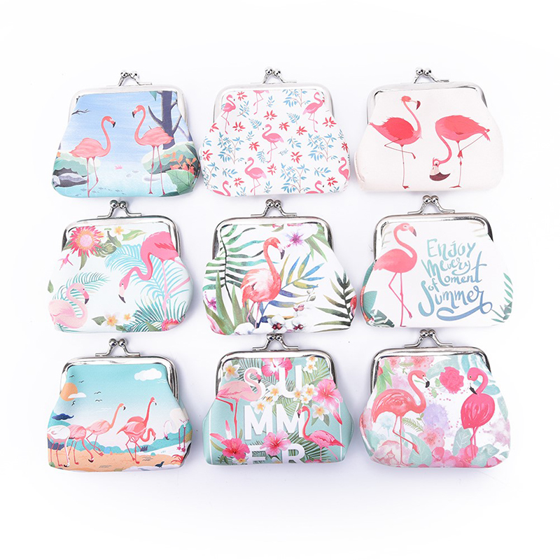 Coin Purses Hot Sale 1pc Fashion Cartoon Cute Unicorn Womens Coin Purse Key Pack Keychain Birthday Party Decorations Kids Baby Shower Gifts
