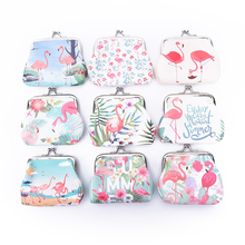 1PCS 1Pc Flamingo Simple Cute Small Coin Purse Cartoon Birthday Party Decorations Kids Happy Baby Shower