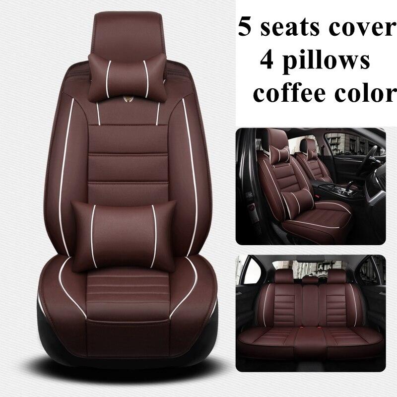 5 Seats automobiles Car Seat Cover for Mercedes Benz C180 C200 C200 CGI C200K C220 C250