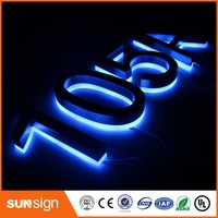 Sunsign Electrical Led Signs House Number Inspirational Letter