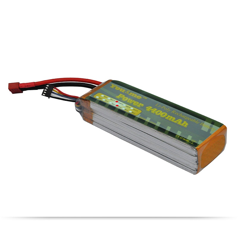 You me Lipo 4S RC Battery 4400MAH 14.8V 35C MAX 70C Drone AKKU Batteria For RC Helicopter Cars Boats Airplane Quadcopter UAV