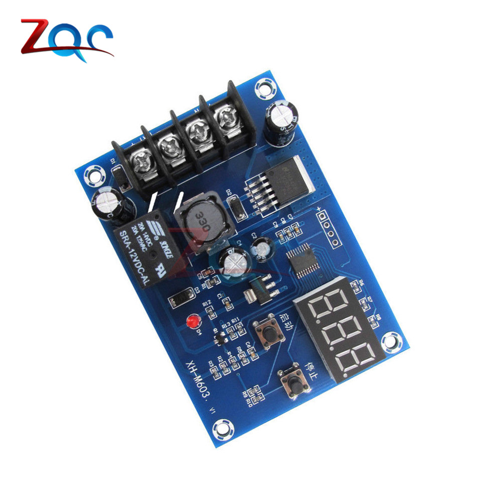 Image 5 - XH M603 Charging Control Module 12 24V Storage Lithium Battery Charger Control Switch Protection Board With LED Display-in Instrument Parts & Accessories from Tools