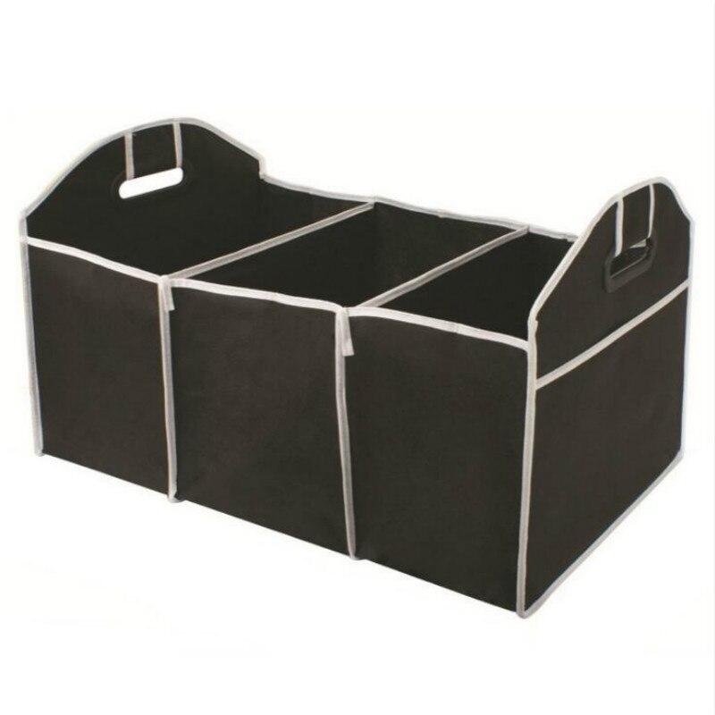 Car Multi-Pocket Trunk Organizer Large Capacity Folding Storage Bag Trunk Stowing and Tidying Trunk Organizer Car Accessories messenger bag