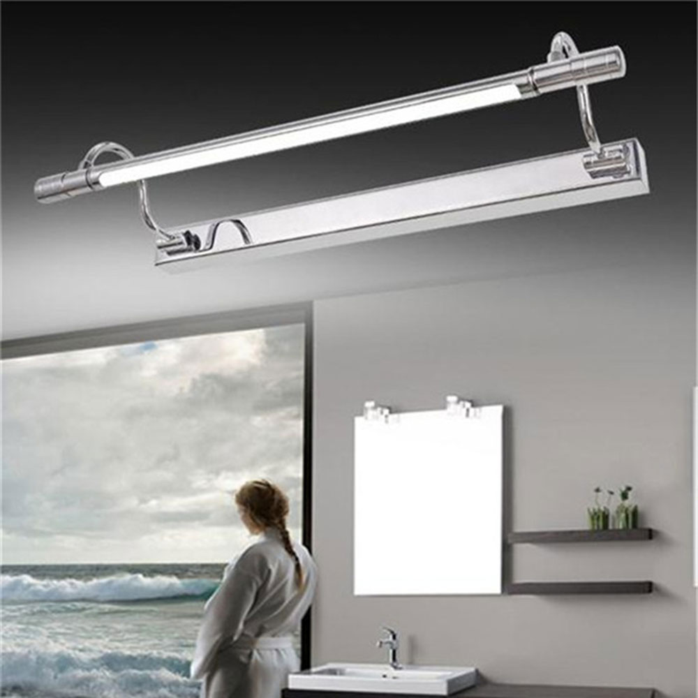 modern art decor acrylic bathroom mirror light long vanity m