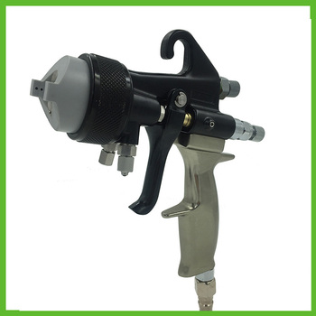 цена на SAT1205 high quality auto paint sprayer mirror chrome spray paint double nozzle sprayer nozzle high pressure spray gun hvlp tool