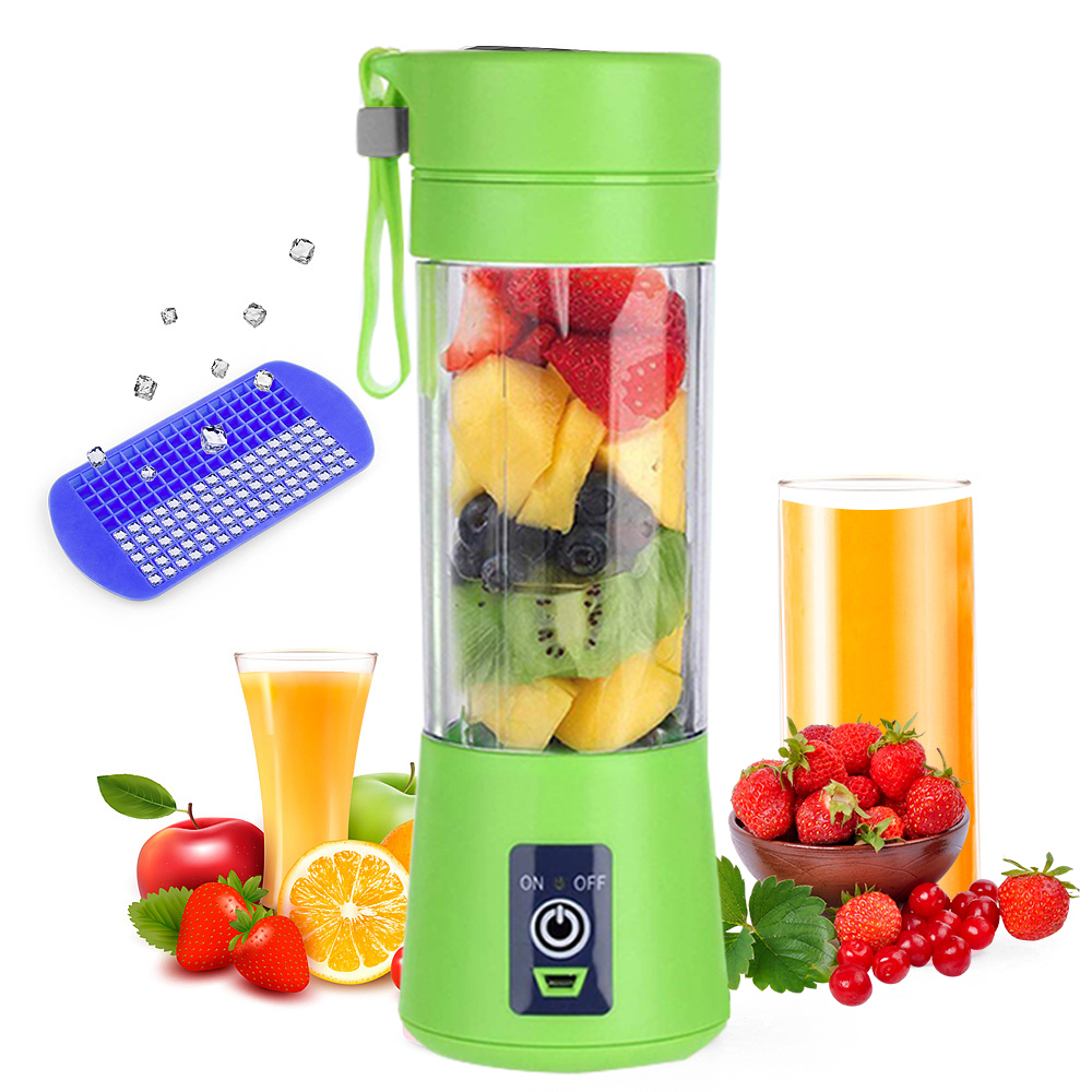 400ml Juicer Cup Electric USB Rechargeable Juicer Smoothie Fruit  Machine Kitchen Mini Portable Juice Blender Dropshipping