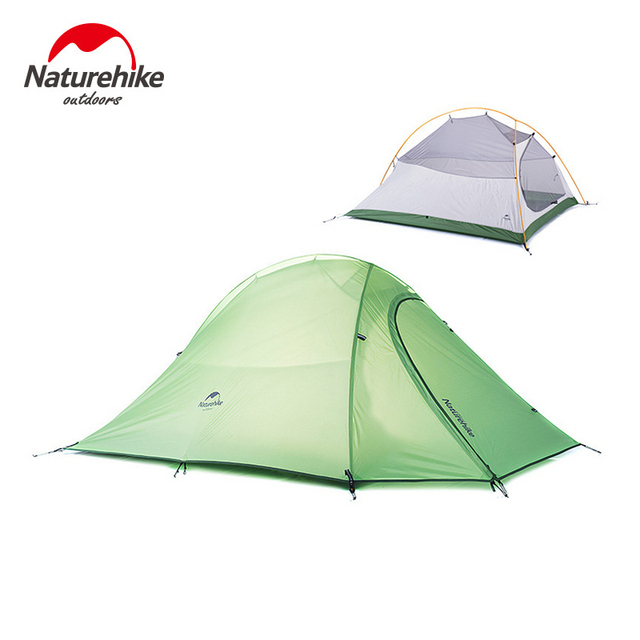 NatureHike 2 Person 4 Season Tent Waterproof 210T Checked Cloth Double-layer Outdoor C&ing Tent  sc 1 st  AliExpress.com & NatureHike 2 Person 4 Season Tent Waterproof 210T Checked Cloth ...