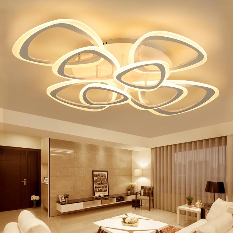 New Modern led Chandelier lighting Ceiling For Living Study Room Bedroom Led lustre lights