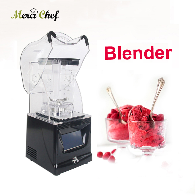 BPA Free Blender Juicer 1800W Professional Power 1.5L Commercial Blender Mixer Fruit Juicer Smoothie Cocktail Bar Ice Crusher