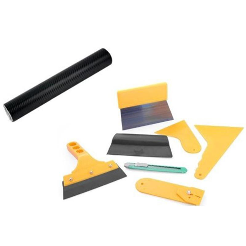 7Pcs/Set Glass Protective film Installing Tool for Automobile Auto Car Wrap Trim Vehicle Window