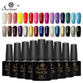 Saviland 1pcs 10ml Long Lasting Soak Off Uv Gel Nail Polish Gel Paints Varnish Top Base Coat Semi Permanent Gel Lacquer