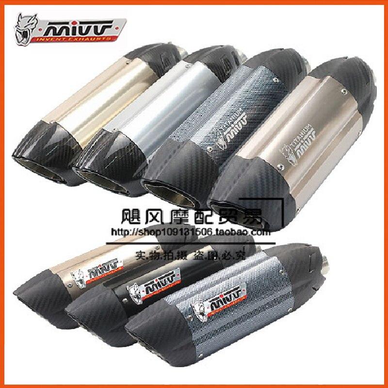 ФОТО mivv AR austin racing SC project akrapovic muffler silencer cbr500 TMAX500 CBR300 500cc escape moto exhaust pipe accessories