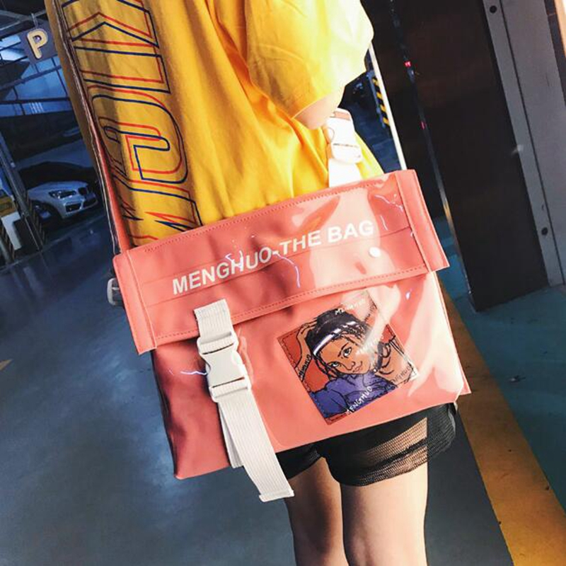 Personalized Cartoon Design Fashion Leather Envelope Bag Clutch Purse Handbags Casual Designer Shoulder Bag Women Handbag Bolsa