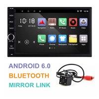 Universal 2 Din Android 6 0 Car GPS Navigation 7 Quad Core Mirror Link Bluetooth Car