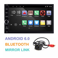 Universal 2 Din Android 6 0 Car GPS Navigation 7 Quad Core Mirror Link Bluetooth Car