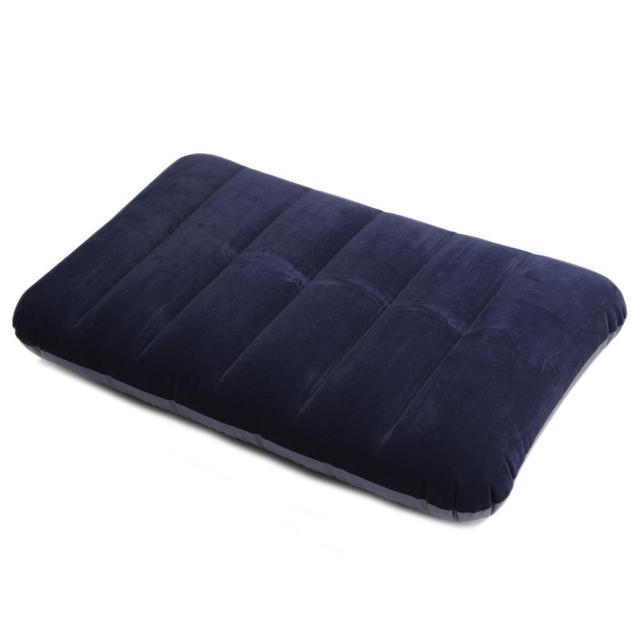 Inflatable Air Cushion Rest Pillow Blue