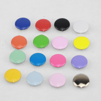 Wholesale Free shipping 100sets/lot 4 part buttons 10mm multicolor 16 colors prong snap buttons fastenerd for baby clothes FP053