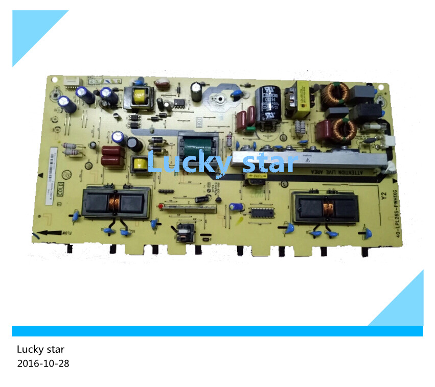 95% NEW used Original power supply board 40-LPL26S-PWH1XG 08-LS26C21-PW200AA 95% new used original board lc470due sfr1 lc470eun sff1