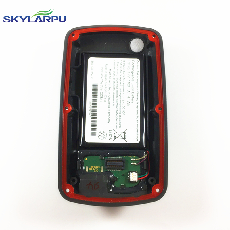 skylarpu rear cover for GARMIN EDGE 810 bicycle speed meter back cover With Battery Repair replacement