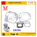 Engine gasket zongshen 250cc CB250 air cooled full set engine gasket muffler gasket cylinder head gasket dirt bike atv quad part