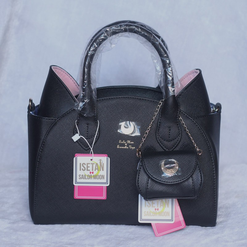 MSMO Sailor Moon Bag Samantha Vega Luna Women Handbag th Anniversary Cat Ear Shoulder bag Hand Bag 22