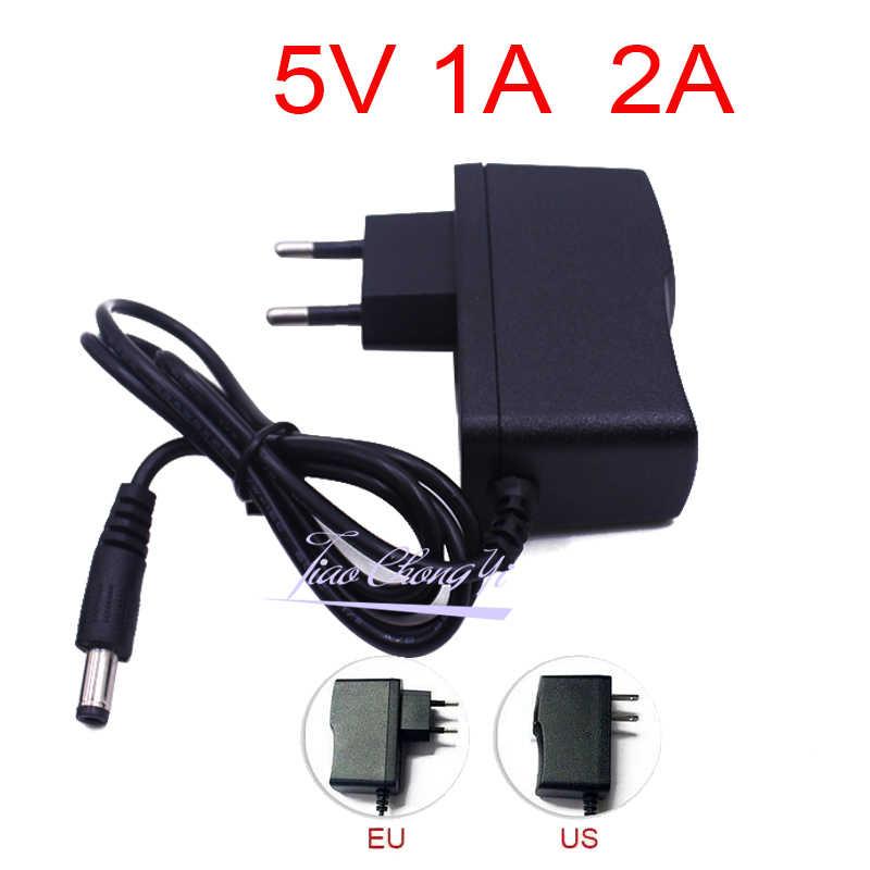 Adaptateur de chargeur électrique lampe Led | Adaptateur DC 5V 9V 12V 24V 1A 2A 3A DC 5 9 12 24v Volt, rotation ue 220V à 12V