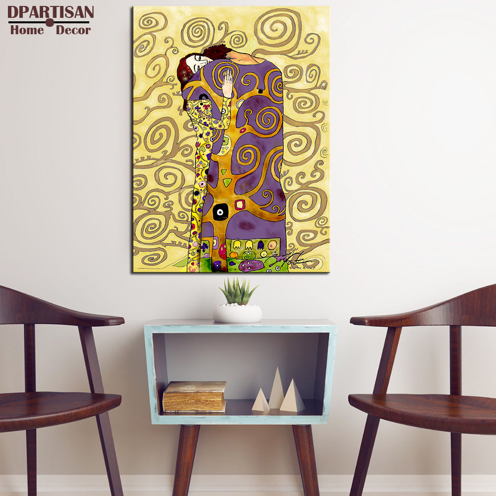 DPARTISAN Huge Gustav KLIMT giclee print CANVAS WALL ART decor ...
