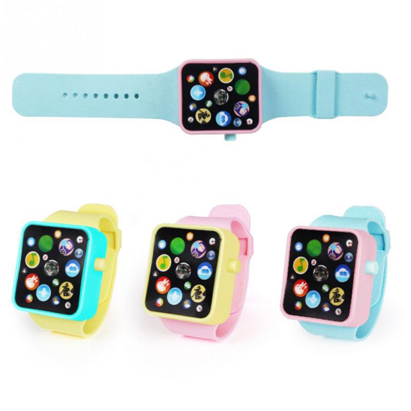 1pc Smart Watch Early Education Clear Voice Loudspeaker ABS Shell Kids Children Musical Toy