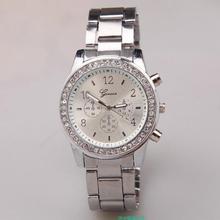 Luxury Fashion Geneva Brand Casual Watch Men Women Dress Quartz Wristwatches Relogio Feminino 2018 Women s