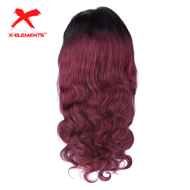 4x4 Lace Closure Wig Pre Plucked Brazilian Remy Body Wave Lace Front Wigs with Baby Hair
