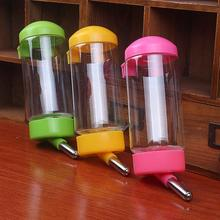400ML Pet Automatic Drinking Water Fountain Waterer Feeder Bottle for Small Cat Dog Rabbit Hamster Gerbil