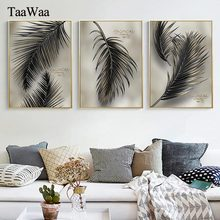 Tropical Plant Canvas Wall Art Green Leaf Painting Nordic Style Posters and Prints Decorative Pictures Modern Home Decoration