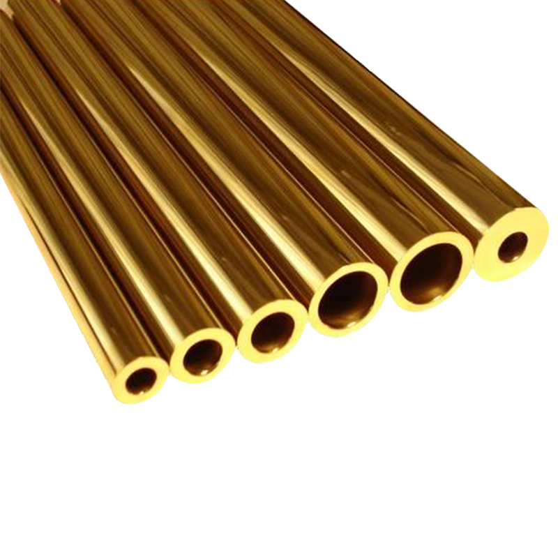 Купить с кэшбэком 10cm Brass tube cutting tool rivet mosaic rivet 1.5mm 2mm 3mm 4mm 5mm 6mm Outside diameter * Inner diameter