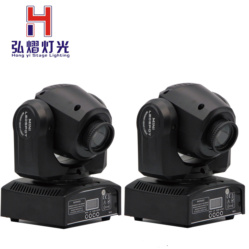 (2 pieces/lot) China moving heads LED mini Inno Pocket Spot Moving Head Light 10W DMX dj 8 gobos effect stage lights цена